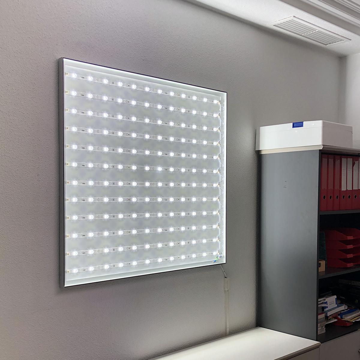 Caja de luz led 30 mm