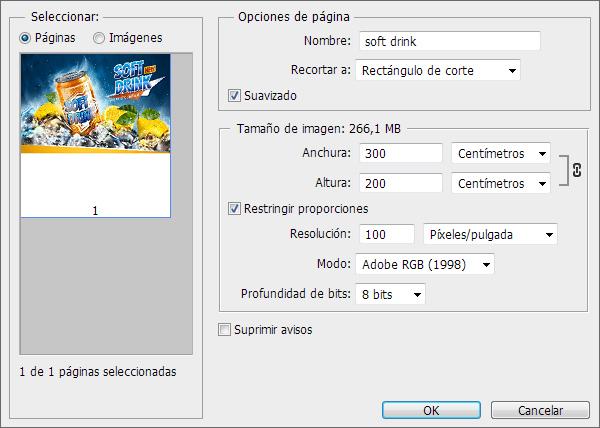 Abrir PDF desde Adobe Photoshop