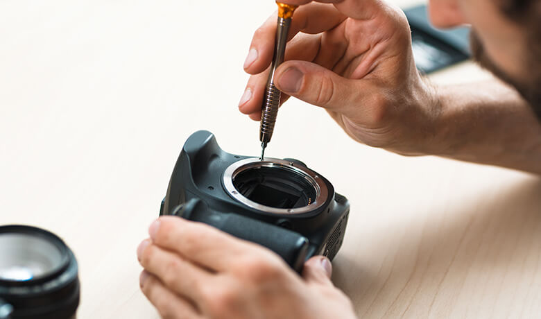 Camera, Lenses, Flashes Repairs