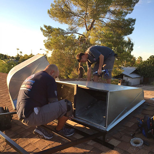 hvac repairs on a arizona home