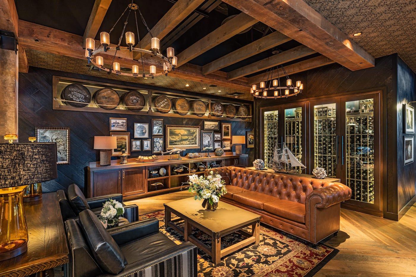 photo of lounge area