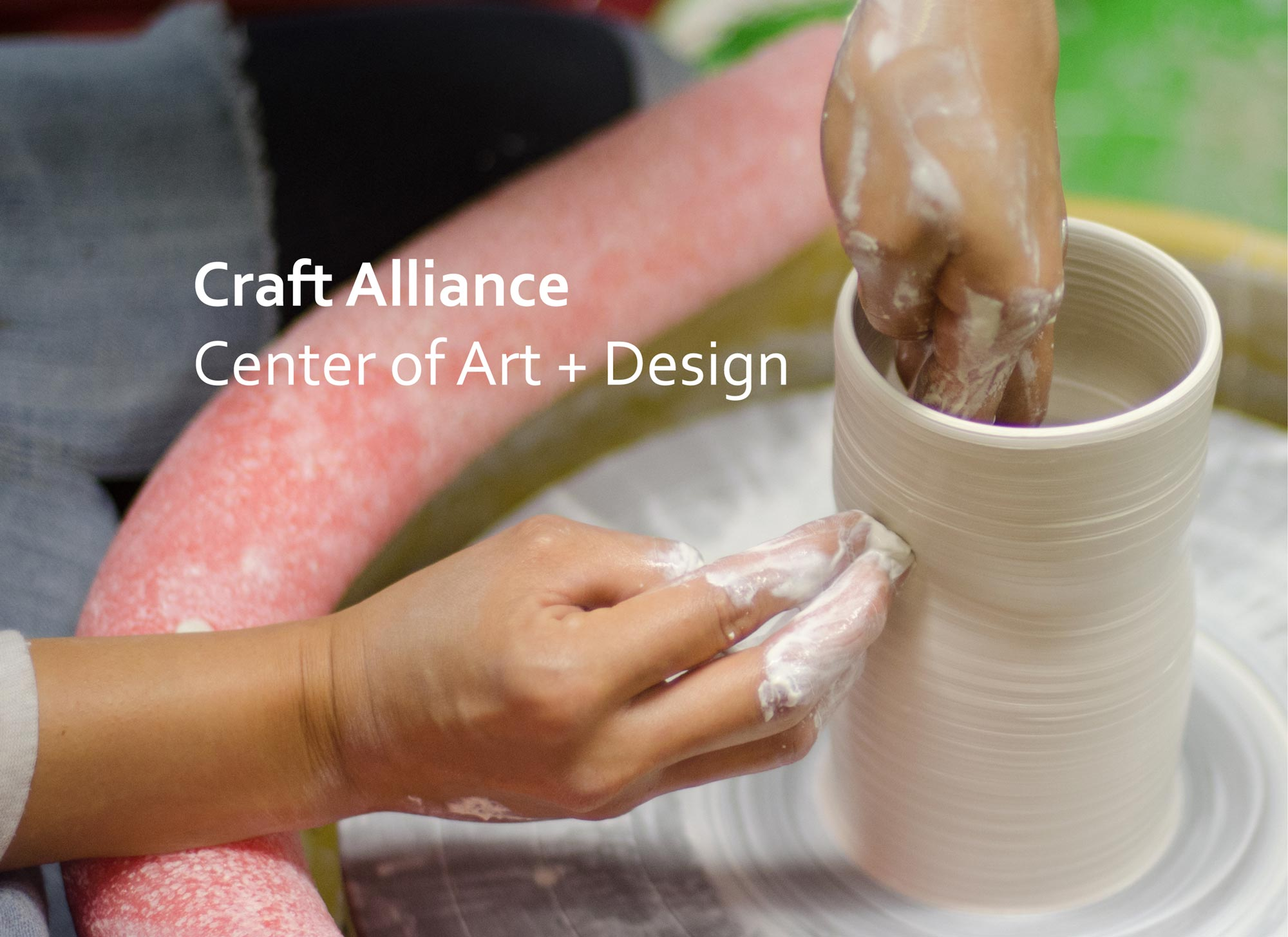 Studiopowell and Craft Alliance Center of Art + Design branding and creative direction