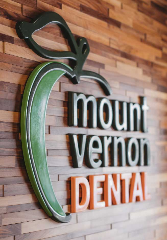 Mount Vernon Dental sign