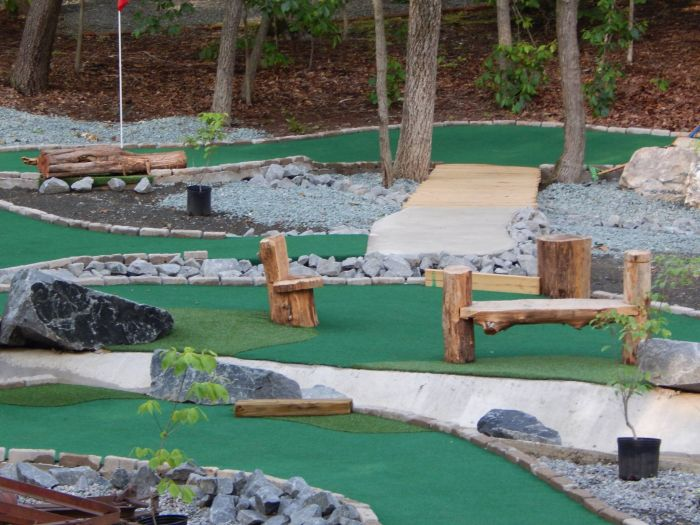 accessible put put golf and outdoor activities in Virginia