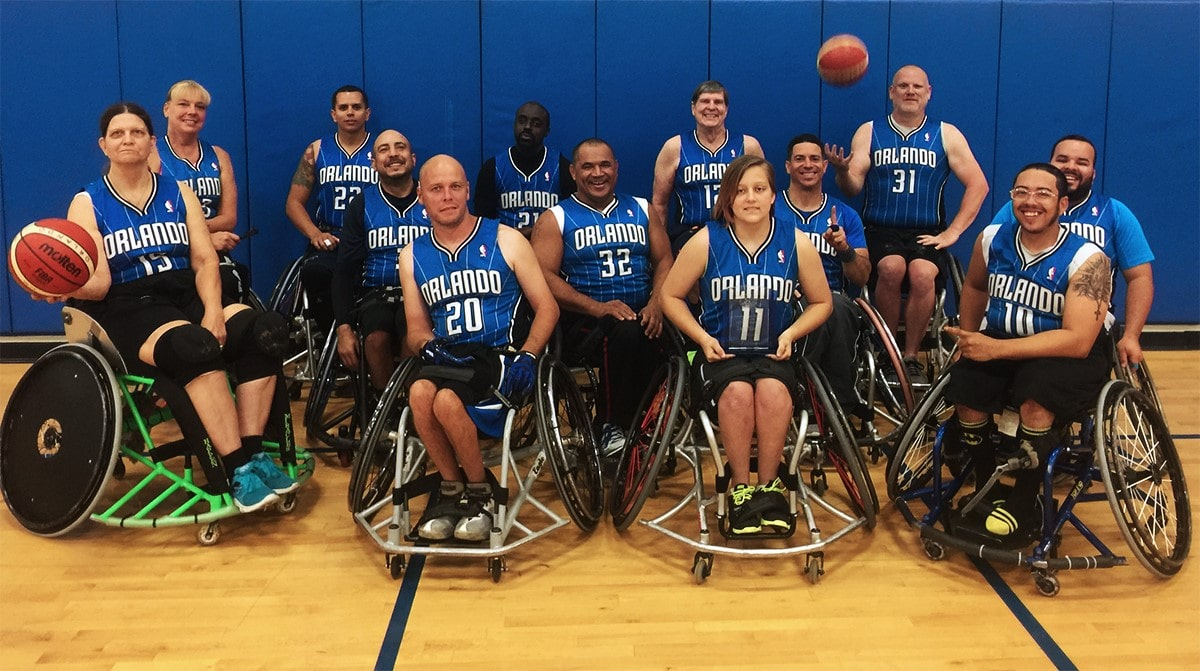 Orlando Magic Wheels team members