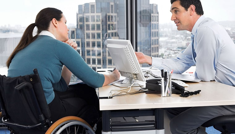 Disability and other insurance benefits may be an option for you.