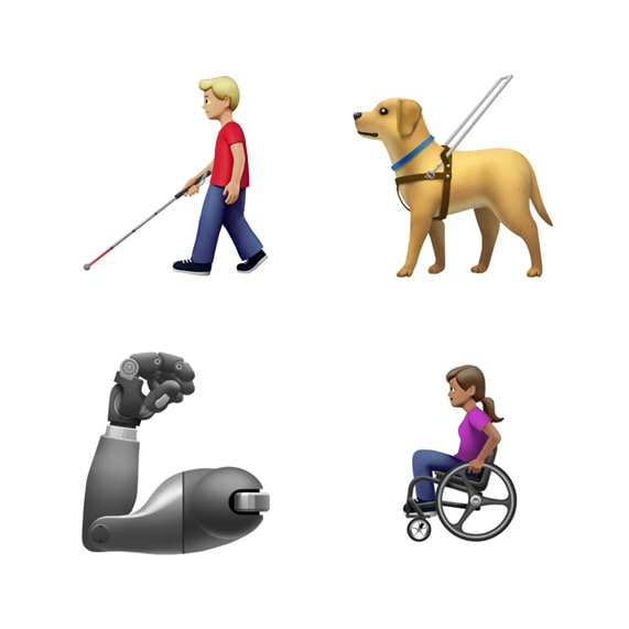 Apple Unveils Disability-Themed Emojis to Dial Into Diversity