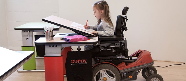 The Vision Table may fit your accessibility needs.