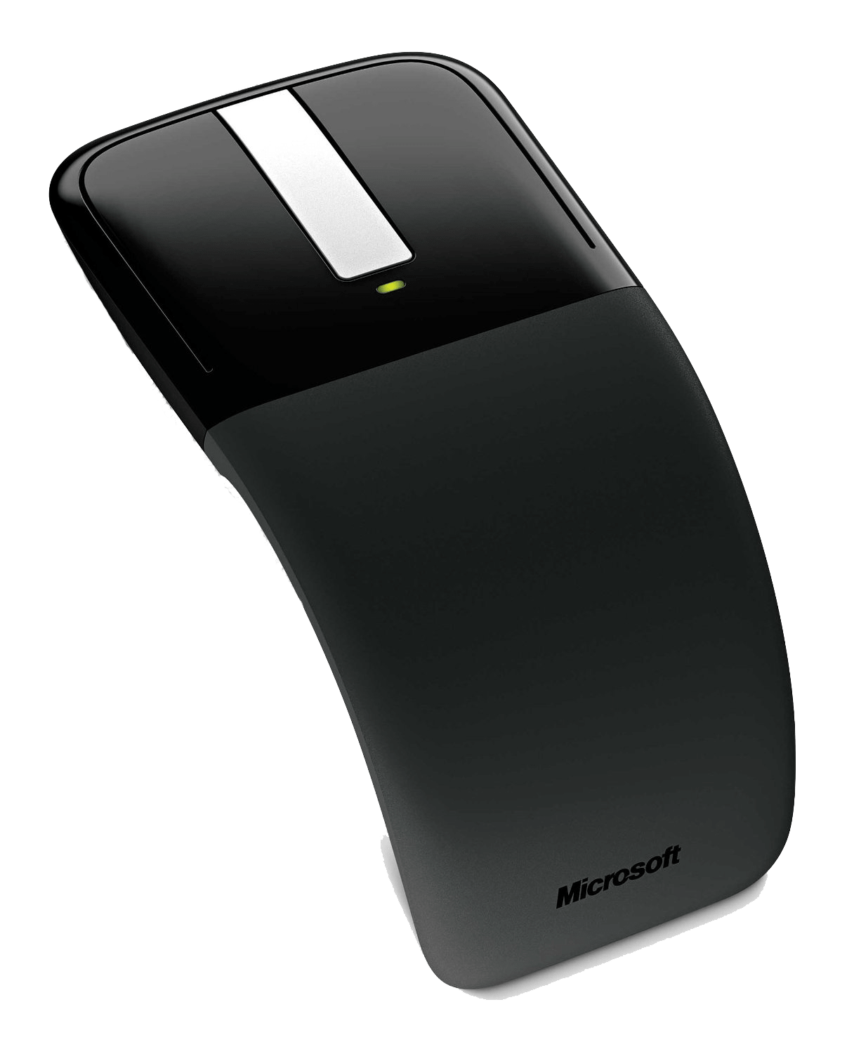 Curved mouse can be an option for employees with disabilities.