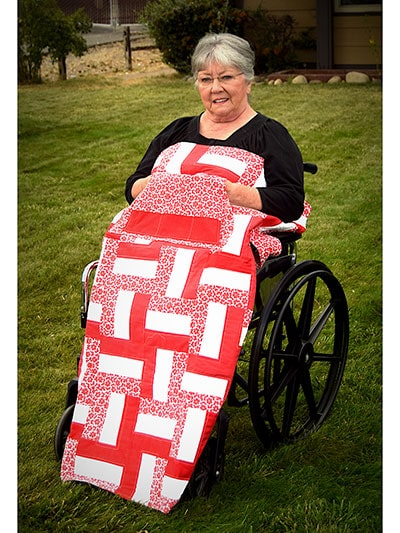 Wheelchair quilt