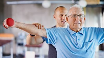 Exercise can help with osteoarthritis.
