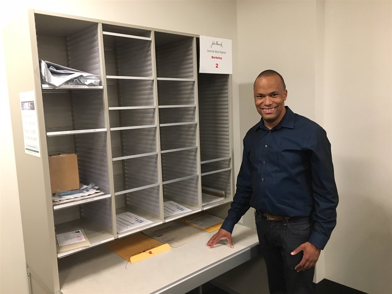 Dudley Williams III is successful in an inclusive workplace.