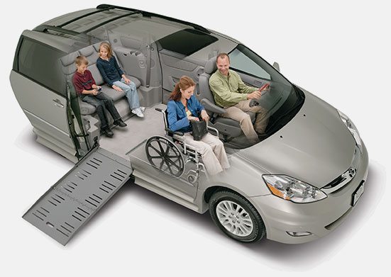 Vehicles can be adapted to fit the needs of drivers with disabilities.