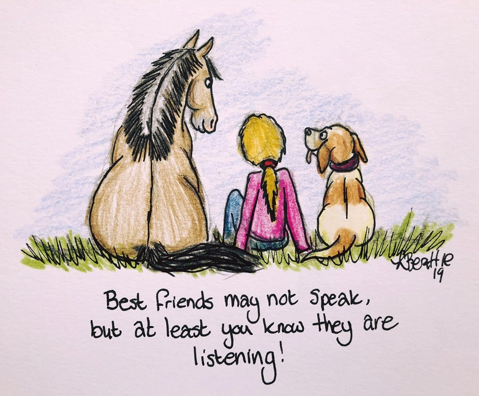 Horse therapy is a unique animal-therapy approach.