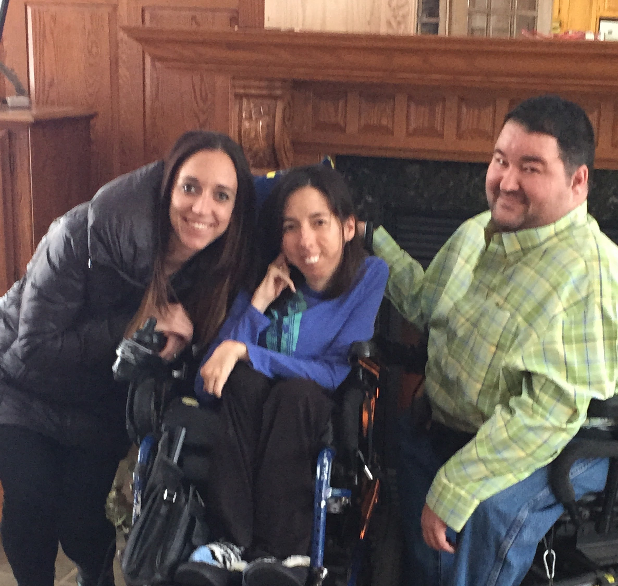 Meegan Winters founded Able Eyes, a disability focused website.