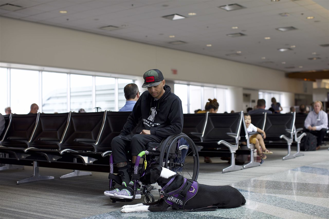 Air travel can be dangerous for people with disabilities.