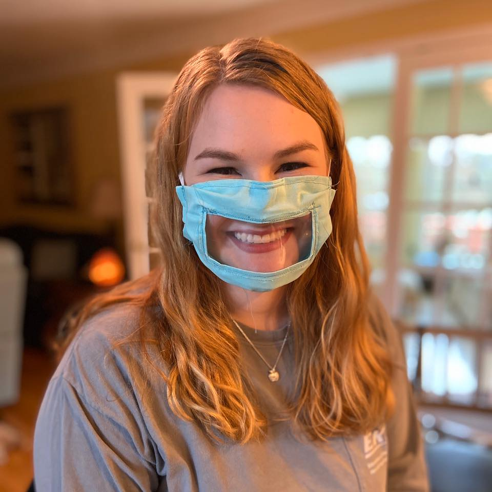 Ashley Lawrence developed this innovative DIY mask option to empower the disability community.