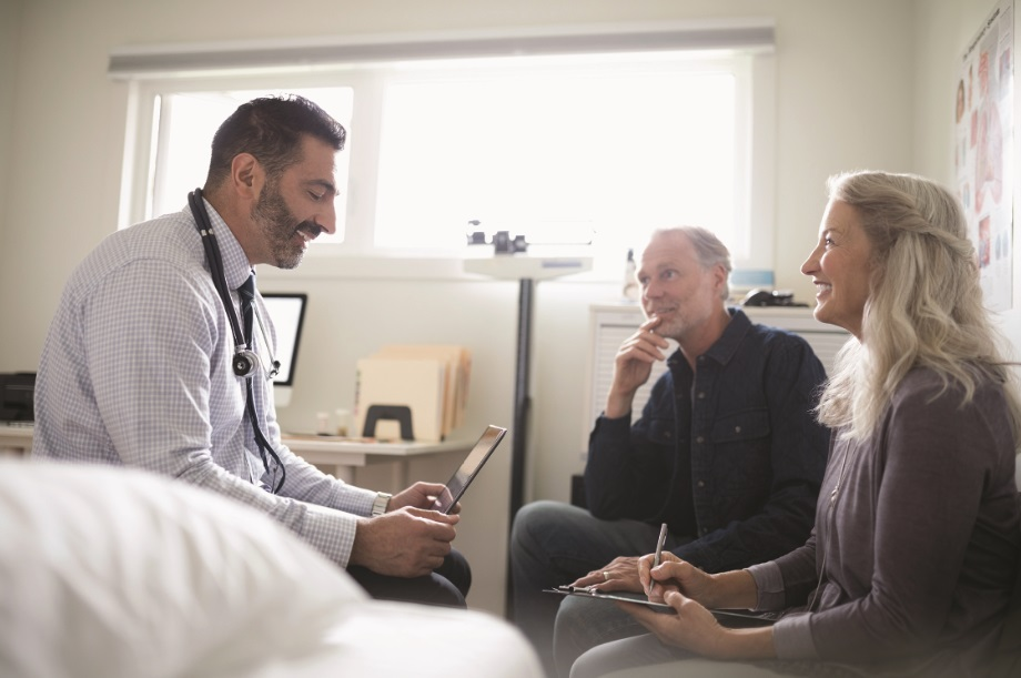 Geriatricians can work with a seniors primary care physician.