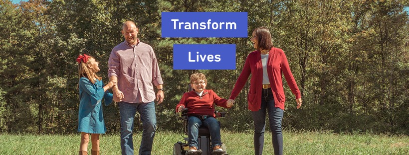 MDA is transforming the lives of people living with muscular dystrophy, ALS and related neuromuscular diseases through funding for research, care and advocacy for the community.