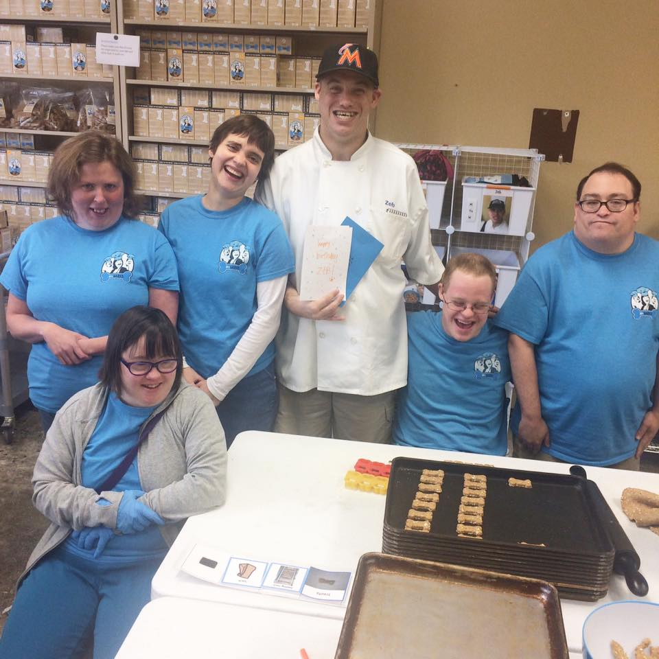 arcBARKS Dog Treat Company is run by individuals with intellectual and developmental disabilities.