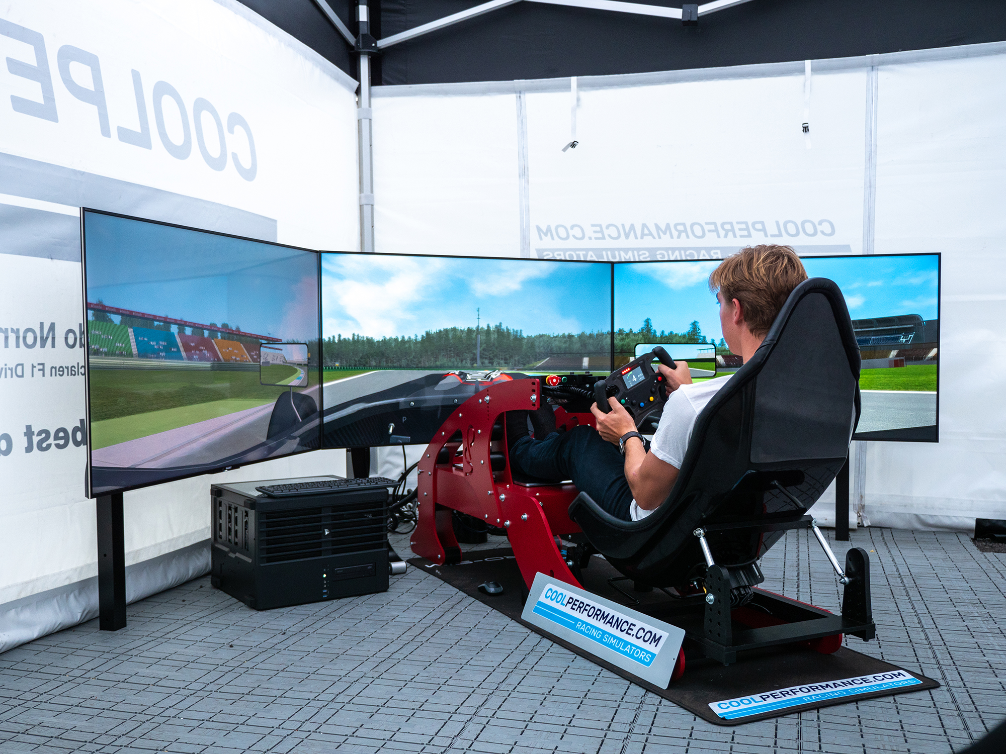 Formula Simulator // Cool Performance Racing Simulators