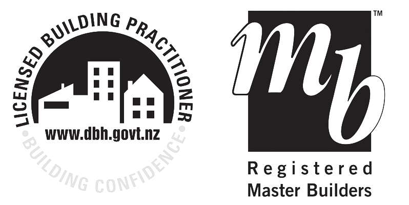master builders and licence building association logos