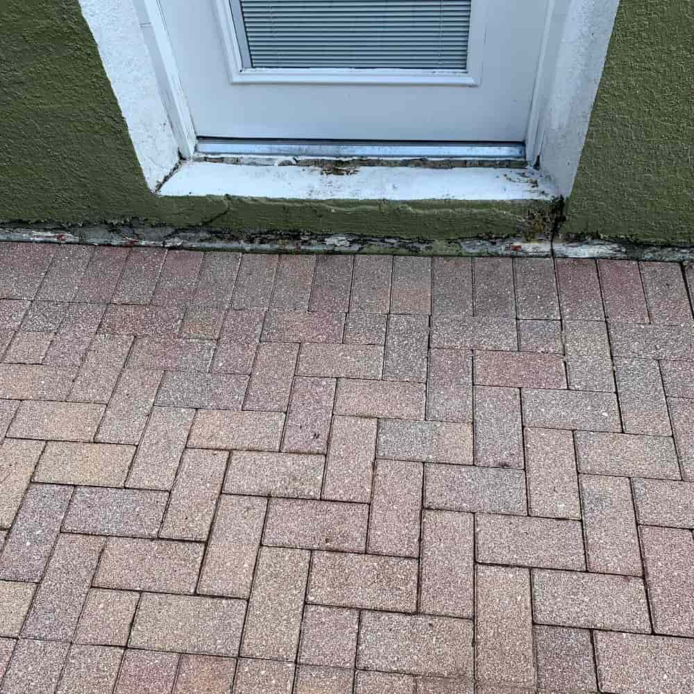 After Pressure Washing