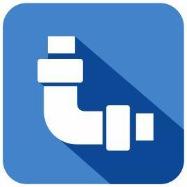 new plumbing construction icon