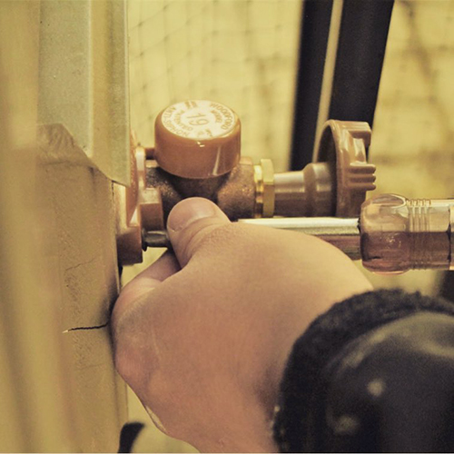 plumbing repair for a leaking fixture