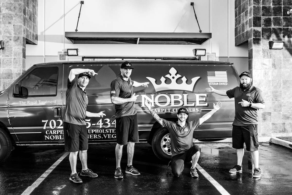 Noble Carpet Cleaners Team Photo