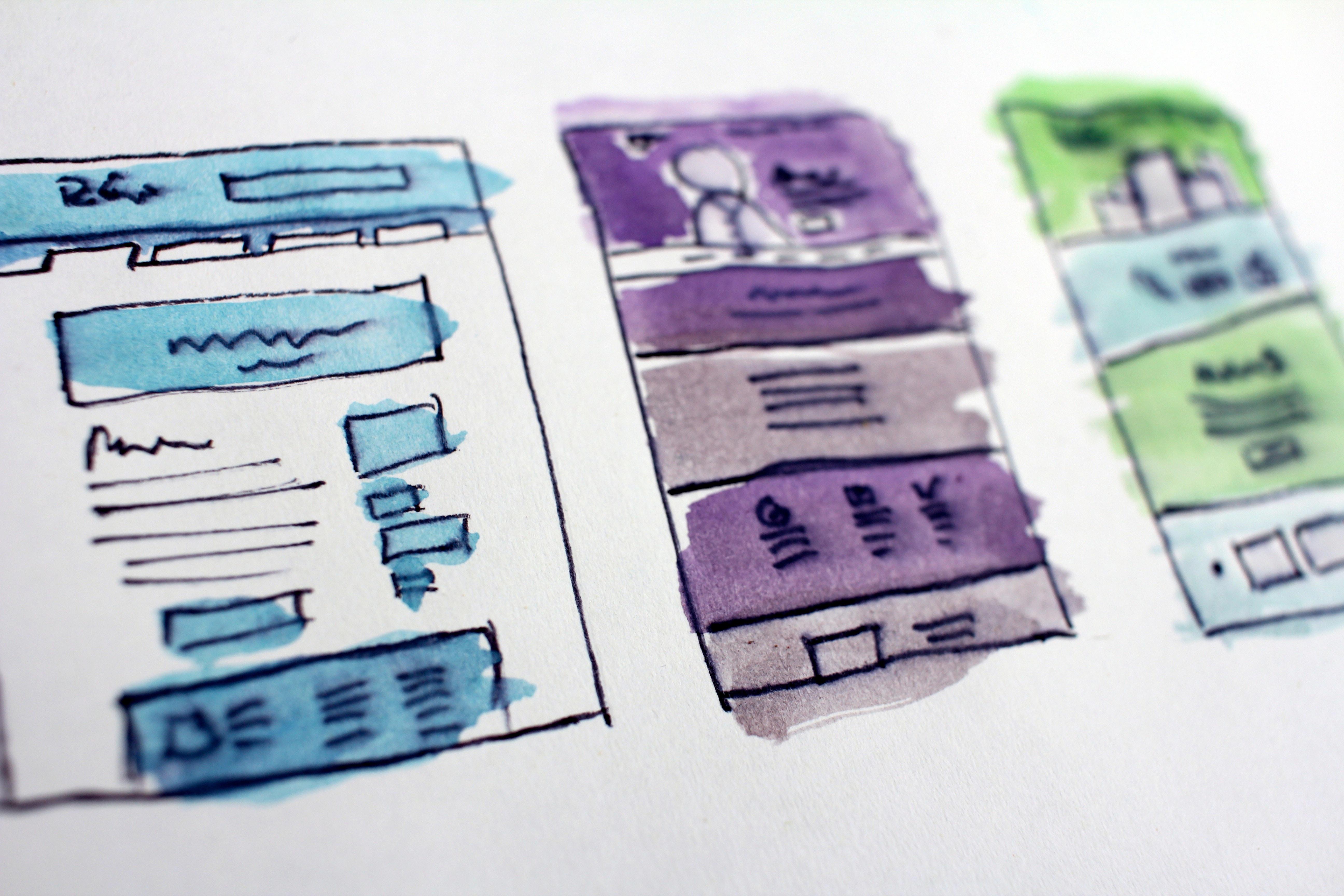 Design sprints wireframe