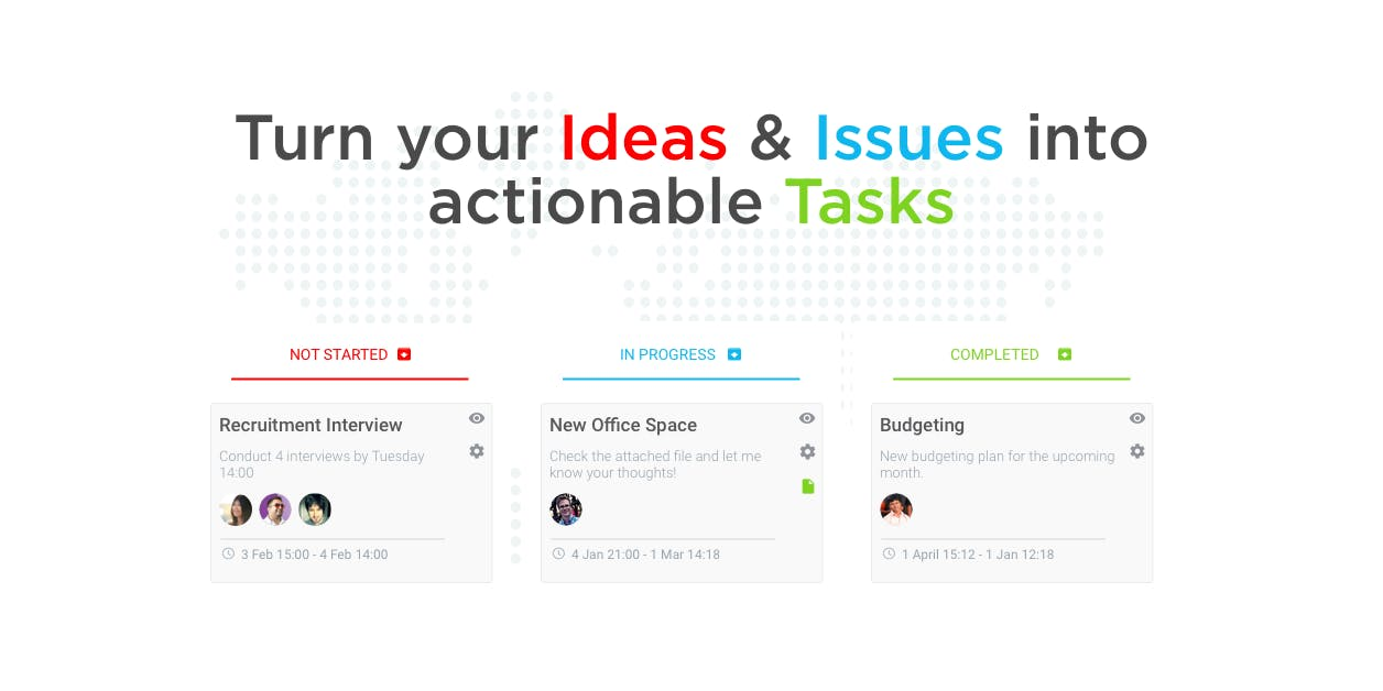 Deskree Project Management Tasks