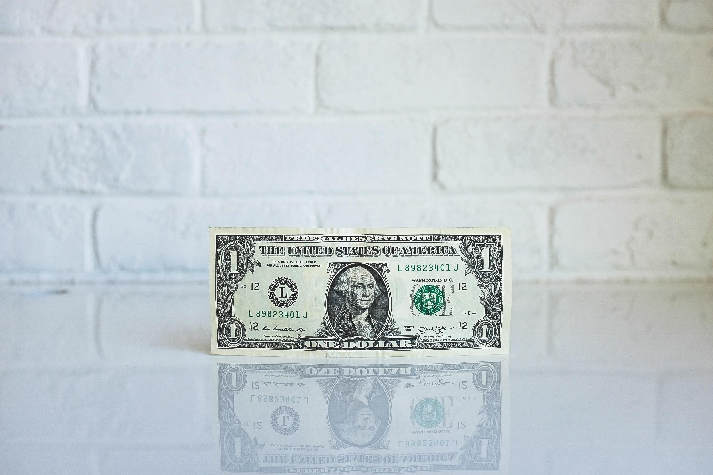 american $1 bill