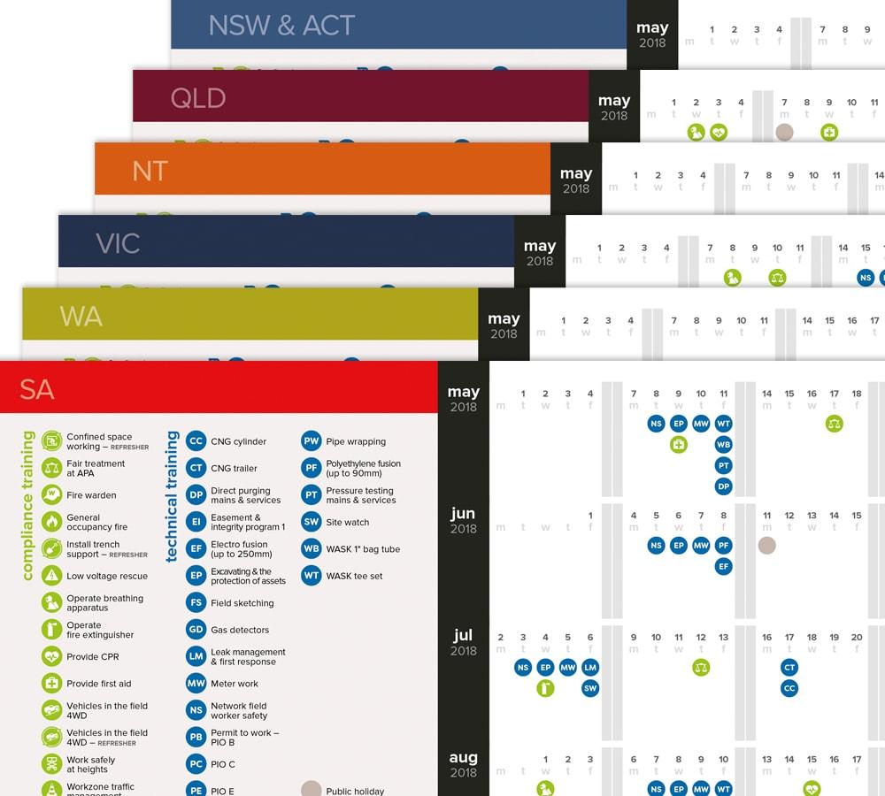 Training Calendars