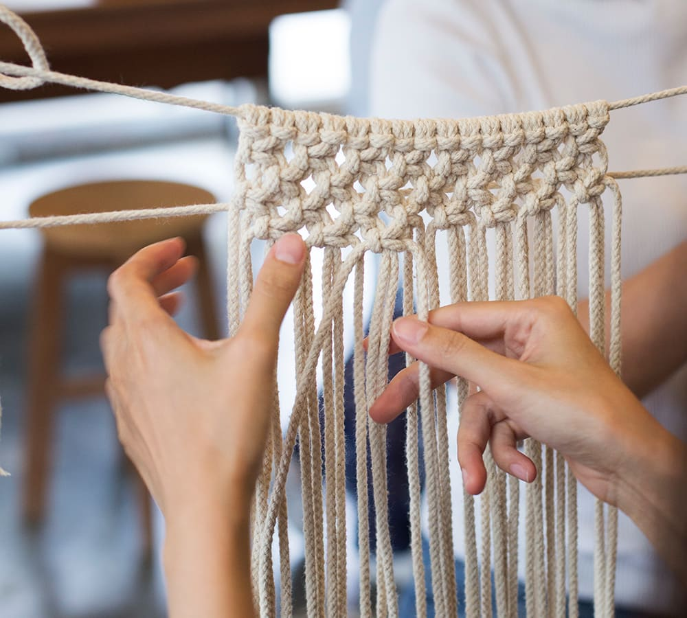 How learning macrame will help develop problem solving skills