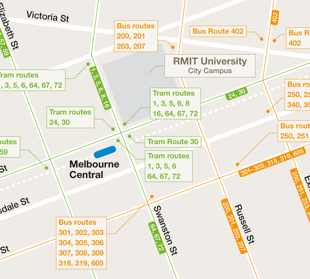 Campus Transport Maps