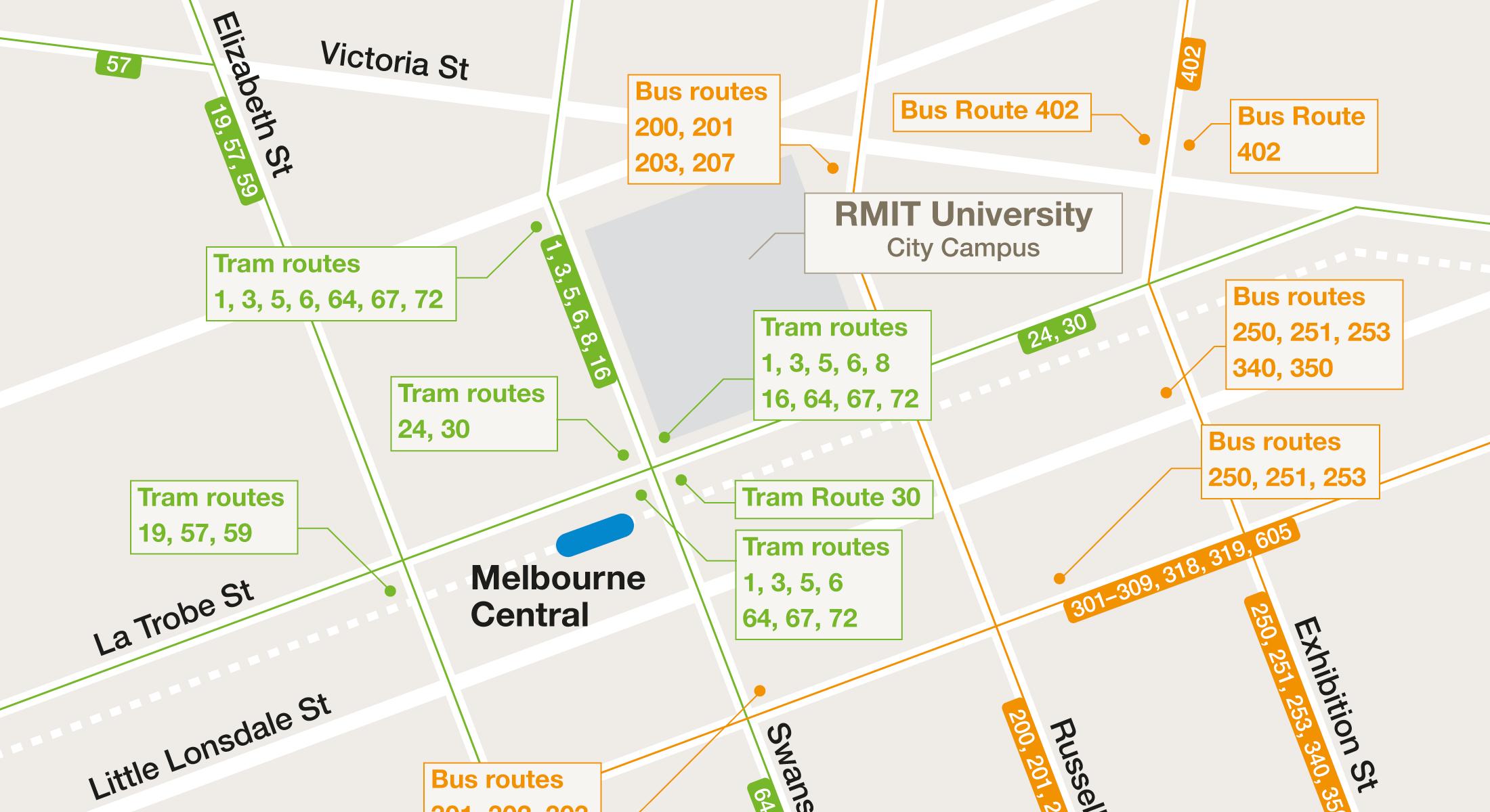 Campus Transport Maps