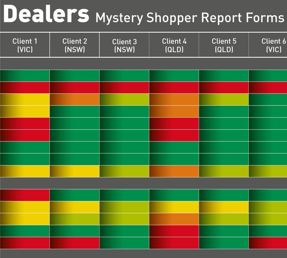 Secret Shopper Data Collection