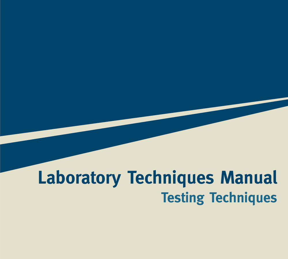 Laboratory Techniques Manuals