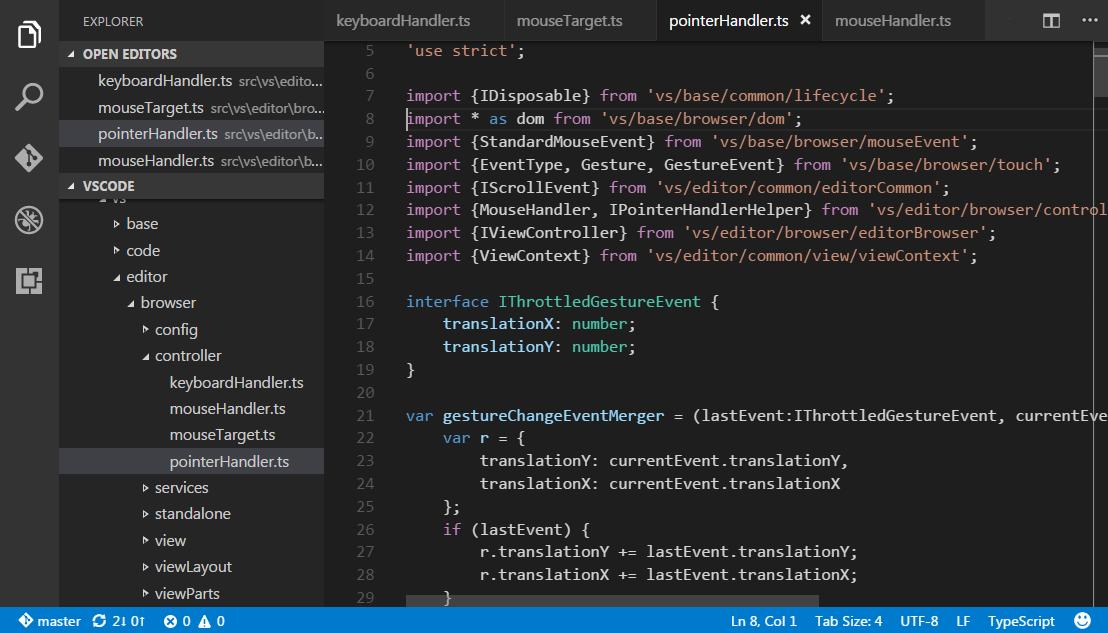 VS Code screenshot