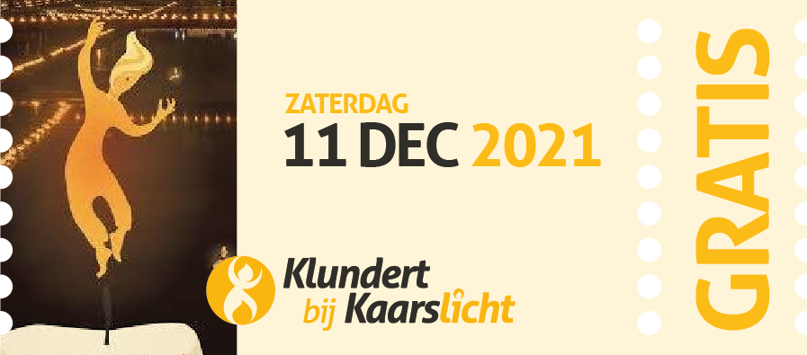 Aankondiging volgende editie 2021 in de vorm van een entreekaartje