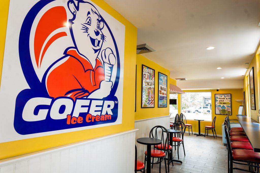 Gofer ice cream