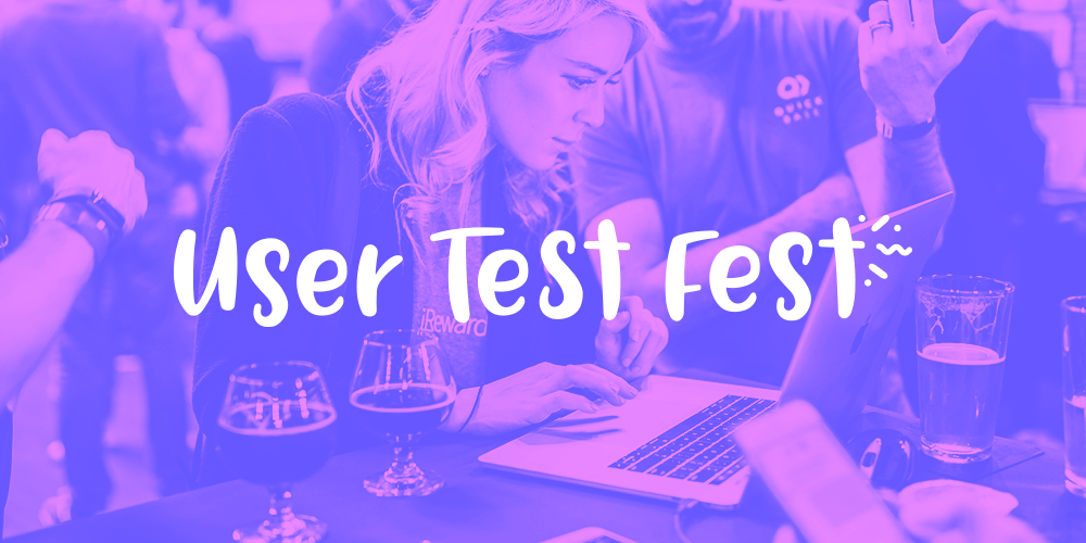 user test