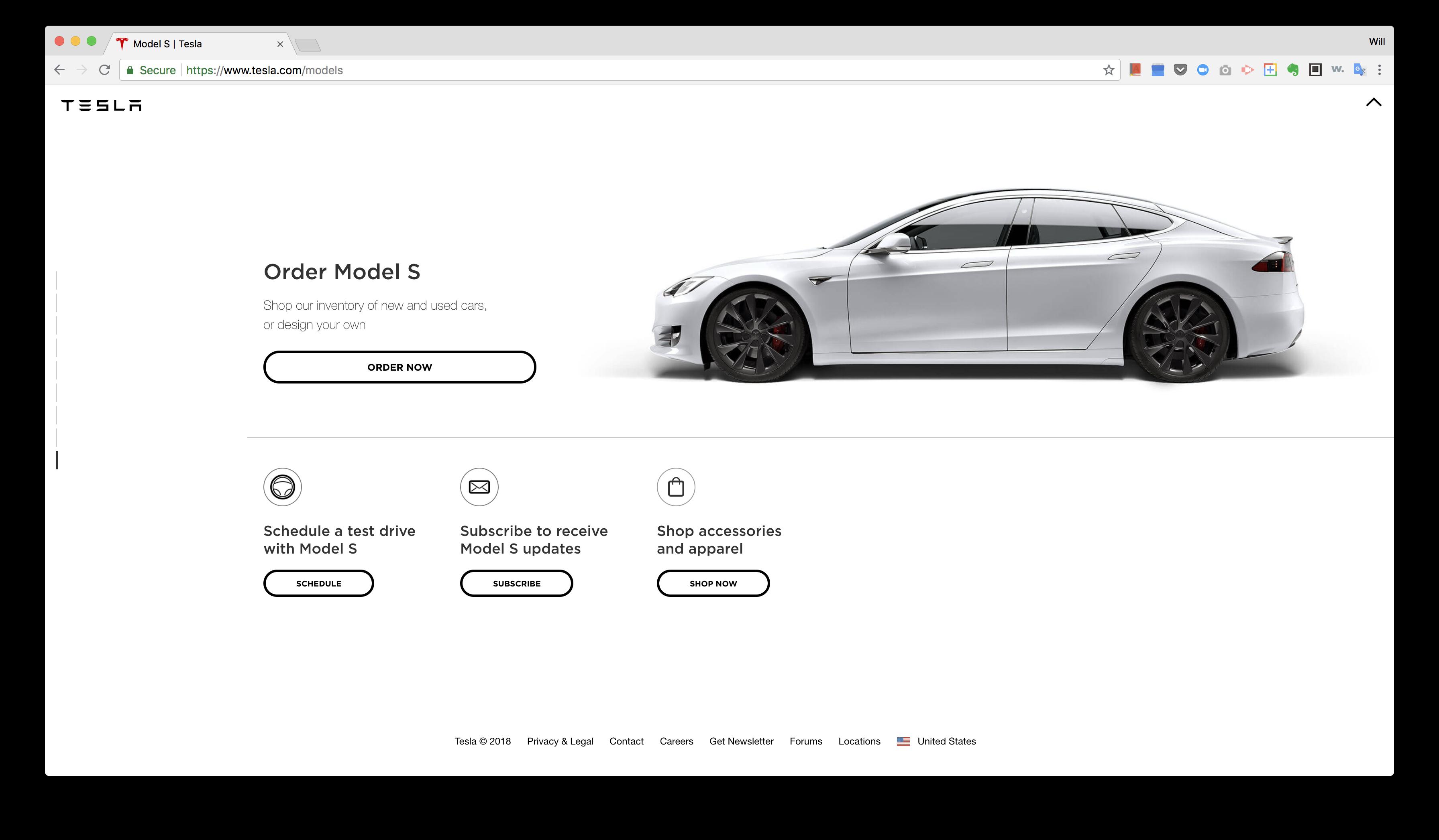 Tesla's Value Perception