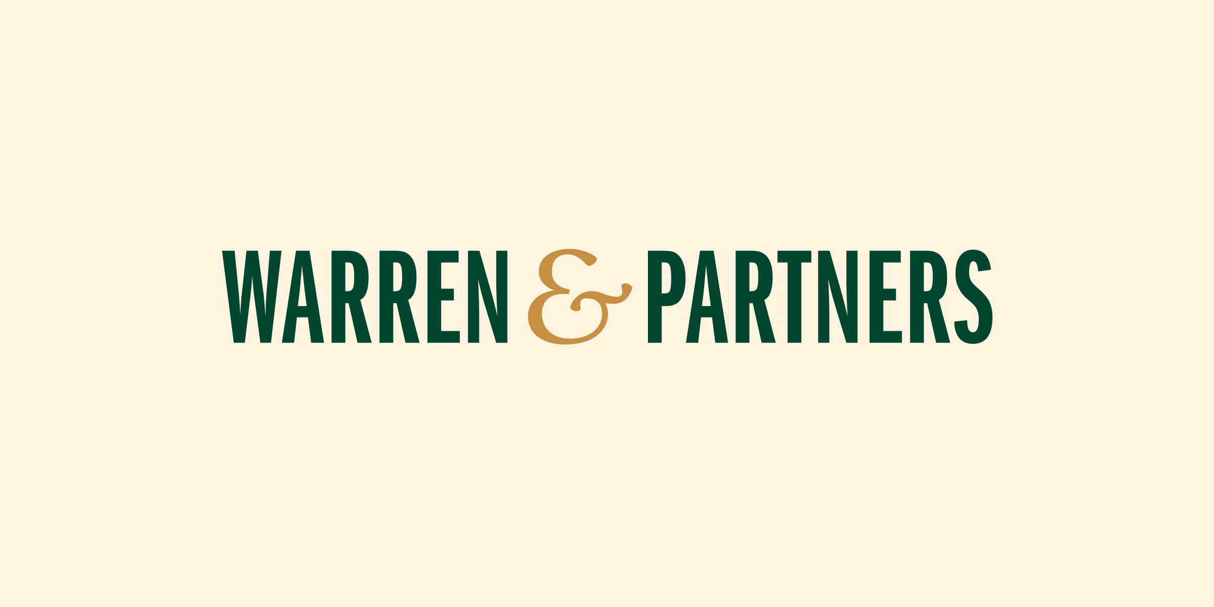 Identity and code for Warren & Partners