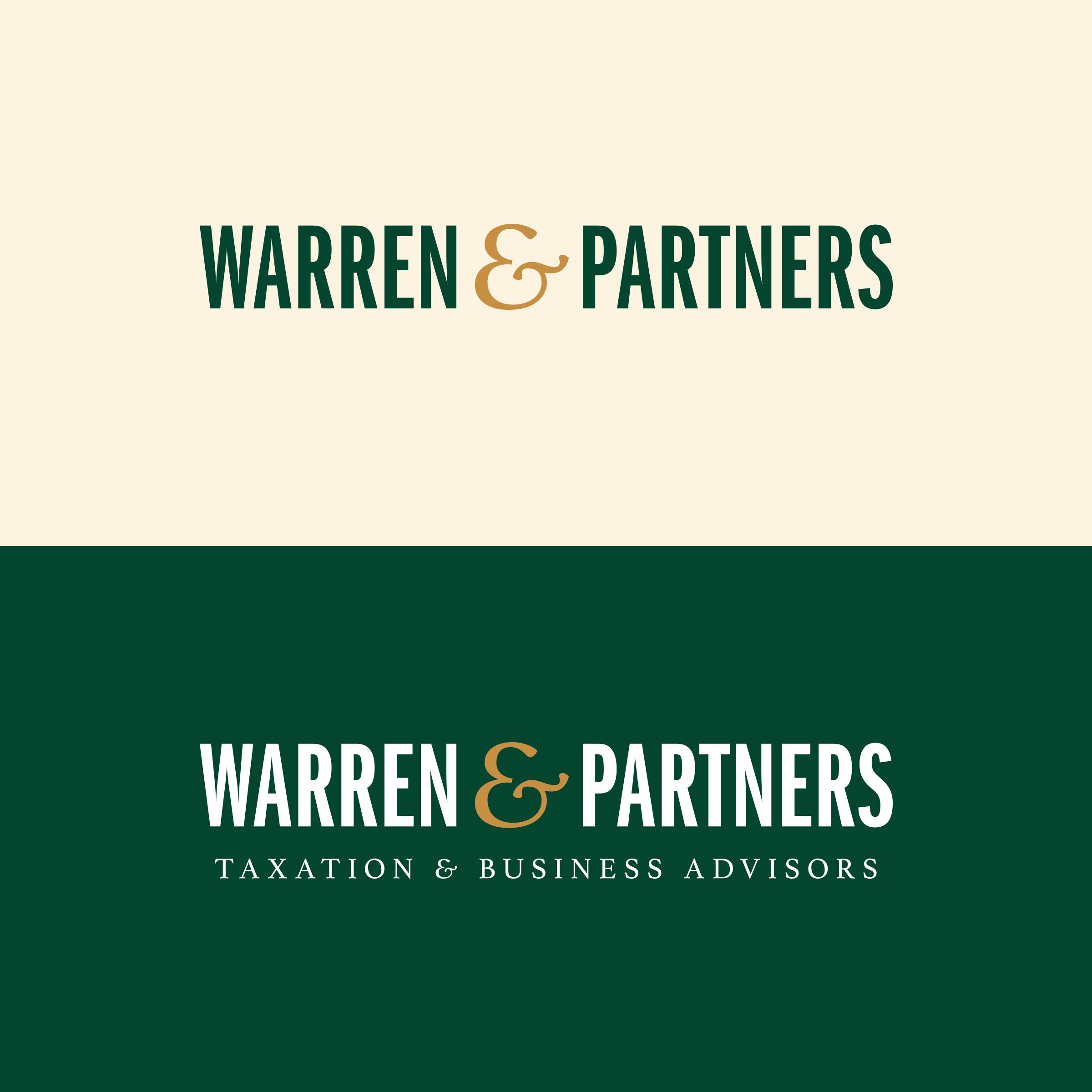 Warren & Partners brand logo