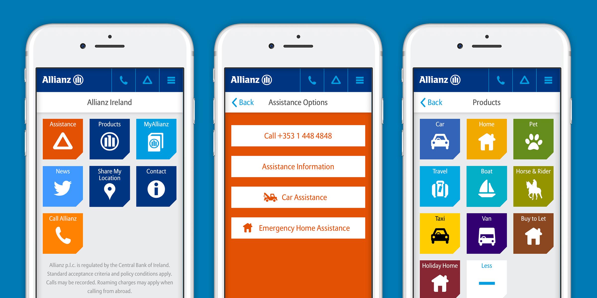 Allianz Ireland Native App