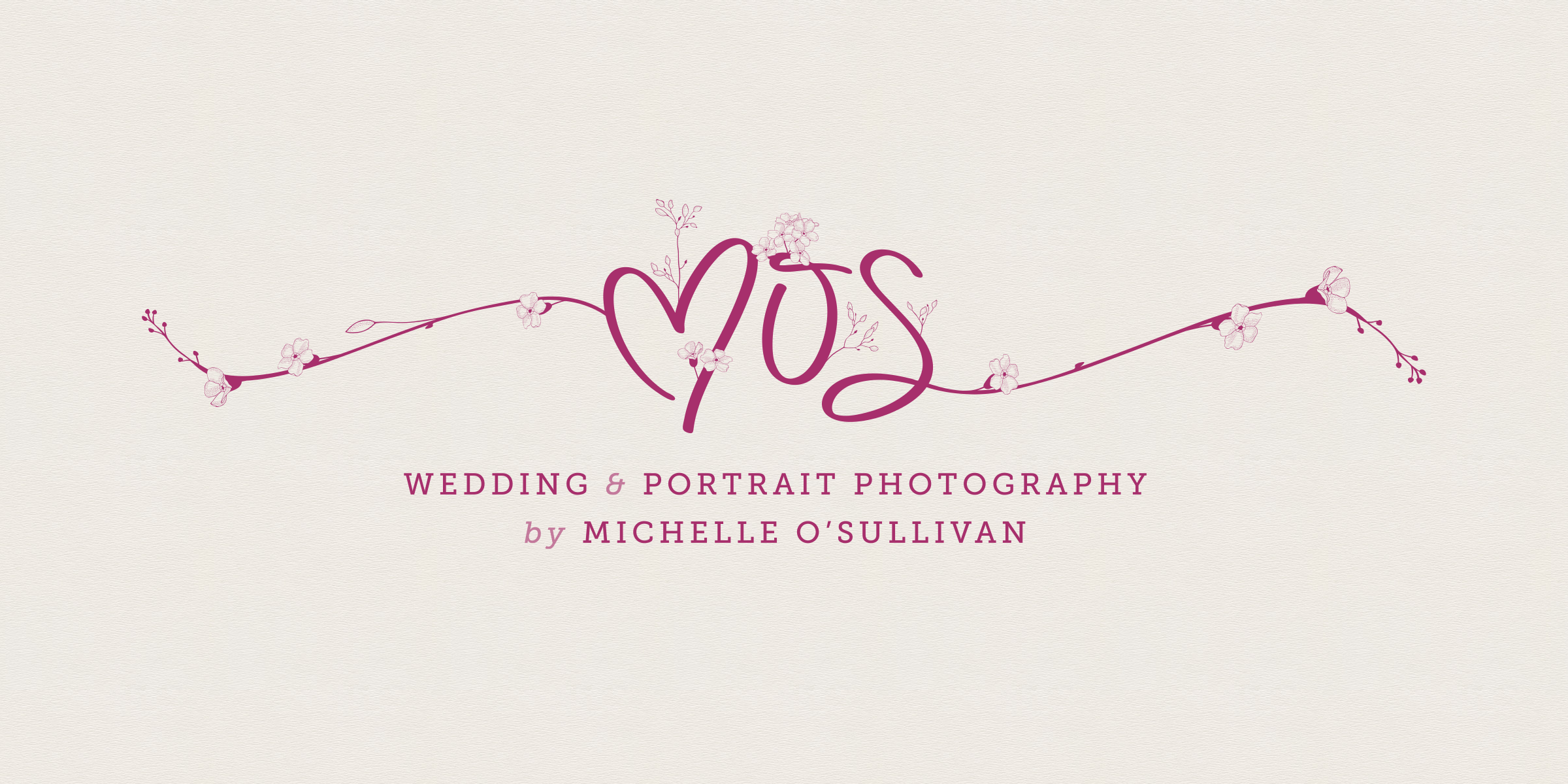 A complete online brand for my wife's photography studio