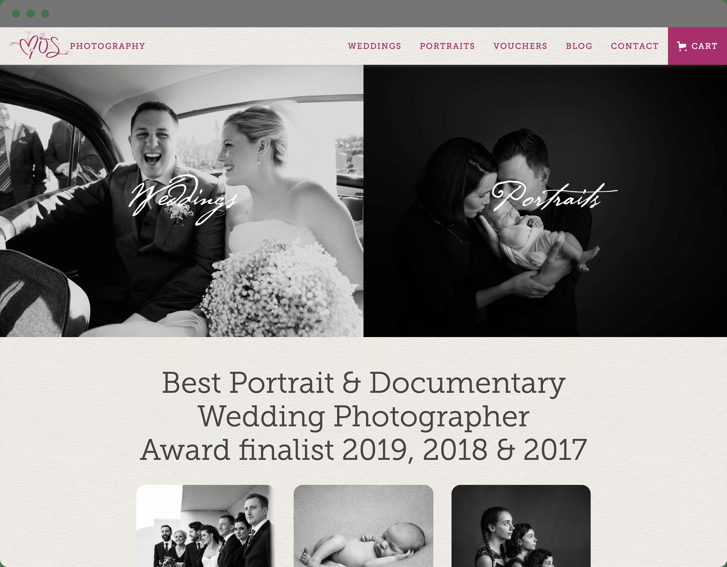 Website Design - Home Page
