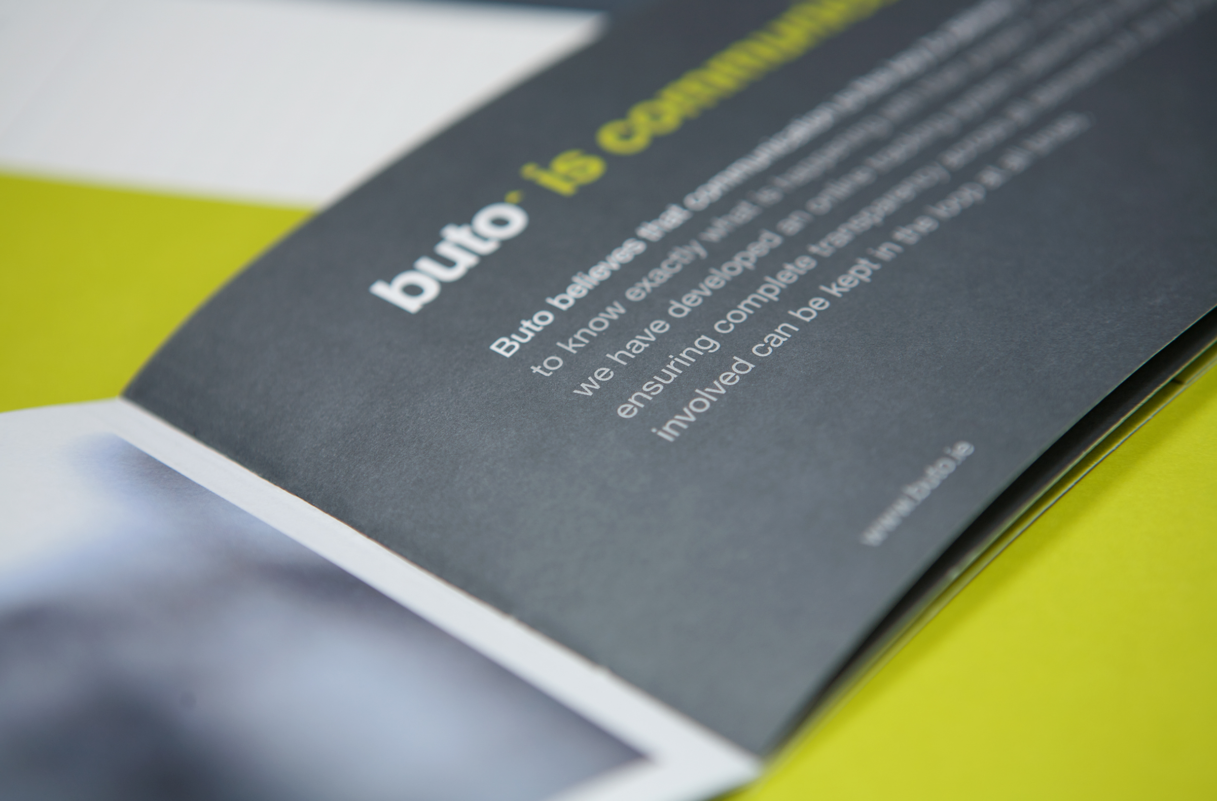 Buto Developments Introduction brochure